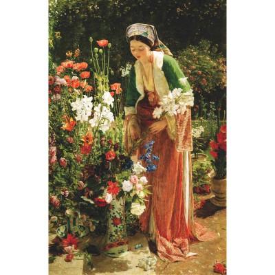 Puzzle-Michele-Wilson-A204-900 Lewis : Dans le jardin