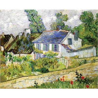 Puzzle-Michele-Wilson-A218-500 Van Gogh Vincent : Maison à Auvers