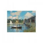 Puzzle-Michele-Wilson-A246-1000 Claude Monet : Le Pont d'Argenteuil