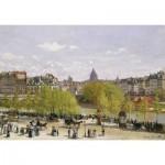 Puzzle-Michele-Wilson-A287-80 Monet : Quai du Louvres Paris