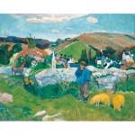 Puzzle-Michele-Wilson-A462-500 Puzzle en Bois - Paul Gauguin: Le Porcher