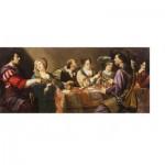 Puzzle-Michele-Wilson-A466-1000 Théodore Rombouts - Les Joueurs de Cartes