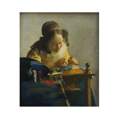 Puzzle-Michele-Wilson-A471-150 Puzzle en Bois - Vermeer Johannes - La Dentellière