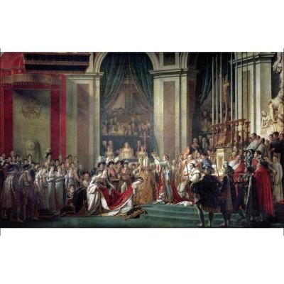 Puzzle-Michele-Wilson-A481-250 Puzzle en Bois - Jacques-Louis David - Le Sacre de Napoléon