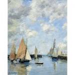 Puzzle-Michele-Wilson-A506-250 Eugène Boudin : La Jetée à Marée haute