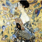 Puzzle-Michele-Wilson-A515-80 Klimt : La Dame à l'éventail