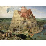 Puzzle-Michele-Wilson-A516-1000 Brueghel : La Tour de Babel