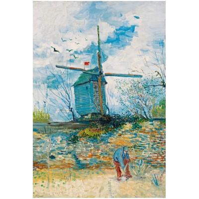 Puzzle-Michele-Wilson-A540-750 Vincent Van Gogh - Le Moulin de la Galette, 1886