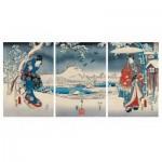 Puzzle-Michele-Wilson-A541-2500 Puzzle en Bois - Hiroshige Utagawa : Le Conte de Genji