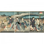 Puzzle-Michele-Wilson-A542-350 Puzzle en Bois - Utagawa Kunisada - La Fraîcheur du Soir