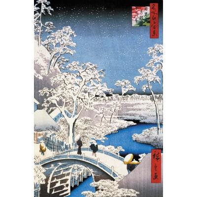 Puzzle-Michele-Wilson-A566-250 Hiroshige : Le Pont à Meguro