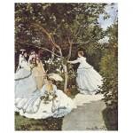 Puzzle-Michele-Wilson-A591-250 Puzzle en Bois - Claude Monet - Femmes au Jardin