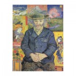 Puzzle-Michele-Wilson-A593-350 Van Gogh Vincent - Portrait du père Tanguy, 1887