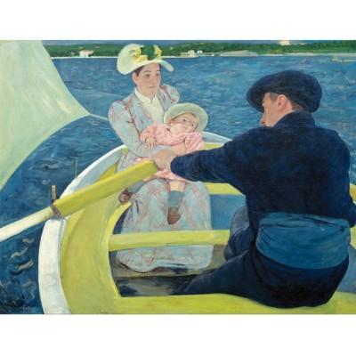 Puzzle-Michele-Wilson-A635-250 Mary Cassatt - La Promenade en Barque