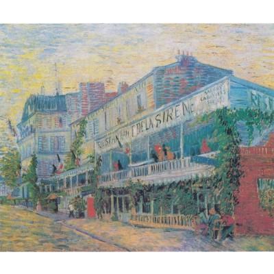 Puzzle-Michele-Wilson-A636-350 Van Gogh Vincent - Restaurant la Sirène, 1887