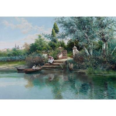 Puzzle-Michele-Wilson-A638-500 Rodriguez - Leçon de Pêche
