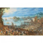 Puzzle-Michele-Wilson-A639-500 Brueghel Pieter - Le Marché aux Poissons, 1603