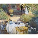 Puzzle-Michele-Wilson-A643-350 Puzzle en Bois découpé à la Main - Claude Monet - Le Déjeuner