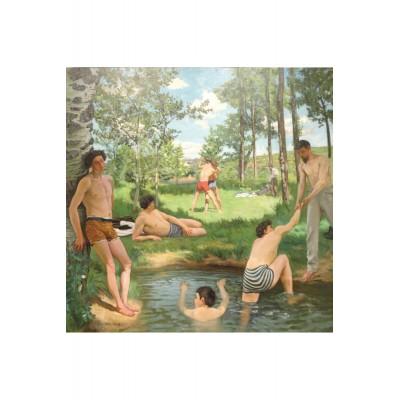 Puzzle-Michele-Wilson-A659-150 Puzzle en Bois - Frédéric Bazille - Scène d'été