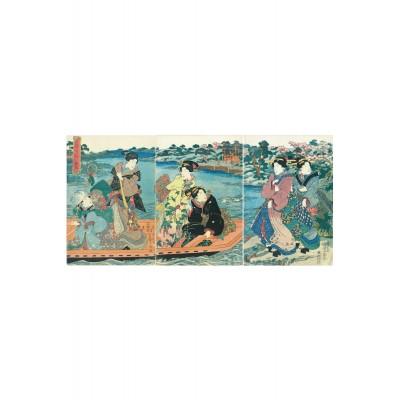 Puzzle-Michele-Wilson-A660-250 Puzzle en Bois - Utagawa Kunisada