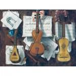 Puzzle-Michele-Wilson-A699-650 Puzzle en Bois - Sébastiano Lazzari - Trompe l'Oeil