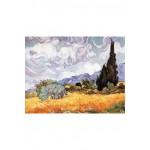 Puzzle-Michele-Wilson-A723-150 Vincent Van Gogh : Les Blés Jaunes