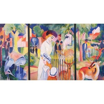 Puzzle-Michele-Wilson-A726-250 Puzzle en Bois - August Macke - Jardin Zoologique