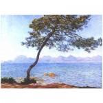 Puzzle-Michele-Wilson-A743-80 Puzzle en Bois découpé à la Main - Claude Monet - Cap d'Antibes