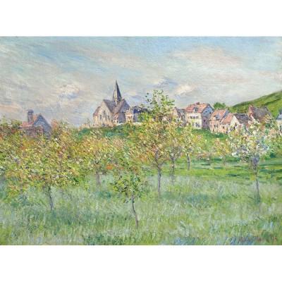 Puzzle-Michele-Wilson-A754-250 Puzzle en Bois découpé à la Main - Claude Monet - Printemps à Giverny