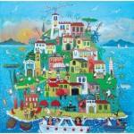 Puzzle-Michele-Wilson-A766-650 Puzzle en Bois découpé à la Main - Alessandra Puppo - Île en Fête