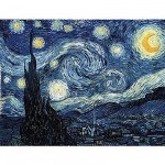 Puzzle-Michele-Wilson-A848-350 Van Gogh : Nuit étoilée