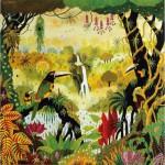 Puzzle-Michele-Wilson-A850-80 Alain Thomas : Toucan à la cascade
