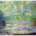 Puzzle-Michele-Wilson-A910-80 Monet  :  Le pont japonais