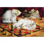Puzzle-Michele-Wilson-A968-250 Talboys : Les chats à l'échiquier