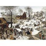 Puzzle-Michele-Wilson-C58-1500 Brueghel  :  Le dénombrement de Bethléem