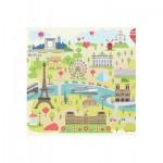 Puzzle-Michele-Wilson-Cuzzle-Z12 Puzzle en Bois - Collection Paris : Paris illustré