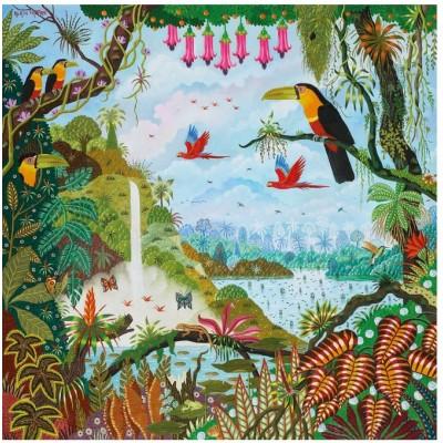 Puzzle-Michele-Wilson-Cuzzle-Z88 Puzzle en Bois - Alain Thomas: Jardin d'Eden