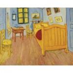 Puzzle-Michele-Wilson-K040-24 Puzzle en Bois découpé à la Main - Vincent Van Gogh - La Chambre en Arles