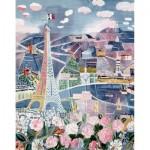 Puzzle-Michele-Wilson-K25-24 Puzzle en Bois découpé à la Main - Raoul Dufy - Paris au Printemps