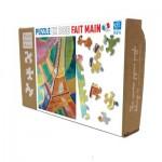 Puzzle-Michele-Wilson-K276-100 Puzzle en Bois découpé à la Main - Robert Delaunay - Tour Eiffel