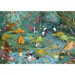 Puzzle-Michele-Wilson-K445-100 Puzzle en Bois - Crocos et Compagnie