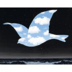 Puzzle-Michele-Wilson-K555-24 Puzzle en Bois découpé à la Main - Magritte - Oiseau dans le Ciel