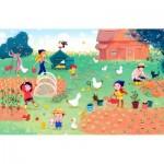 Puzzle-Michele-Wilson-K684-50 Puzzle en Bois - Famille Potiron