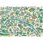 Puzzle-Michele-Wilson-K685-100 Puzzle en Bois - Paris Labyrinthes