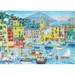 Puzzle-Michele-Wilson-K773-50 Puzzle en Bois découpé à la Main - Le Port de Camogli
