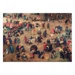 Puzzle-Michele-Wilson-K904-100 Puzzle en Bois découpé à la Main - Brueghel - Jeux d'Enfants