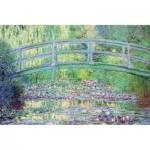 Puzzle-Michele-Wilson-K910-24 Puzzle en Bois découpé à la Main - Claude Monet - Le Pont Japonais