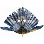 Puzzle-Michele-Wilson-P128-150 Eventail l'Oiseau Bleu