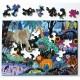 Puzzle en Bois découpé à la Main - Nuit dans la Jungle