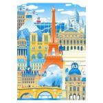 Puzzle-Michele-Wilson-W059-50 Vincent Mahé : Paris en Folie
